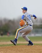 High School Baseball-pitcher