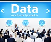 Business People Data Presentation Concept
