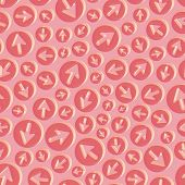 Arrows. Seamless pattern. Vector illustration. Can be used for wallpaper, web page background, web banners.