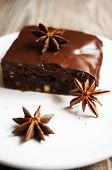 Brownie Cake With Coffee