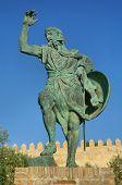 Ibn Marwan Statue