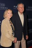 LOS ANGELES - OCT 24:  Eva Marie Saint; Jeffrey Hayden at the