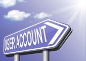 Your user account membership registration navigation open or create membership profile