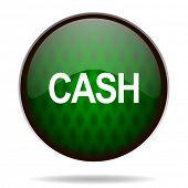 cash green internet icon