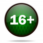 adults green internet icon