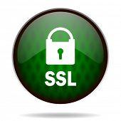 ssl green internet icon