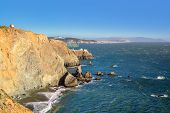 California Coast, Lighthouse Point Bonita.
