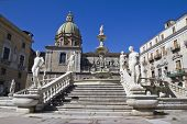 foto of shame  - Palermo Piazza Pretoria also known as the Square of Shame Piazza della vergogna - JPG