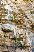 Waterfall Uchan-su In Crimean Rocks