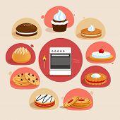 Cookies decorative set