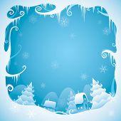 Christmas border for design
