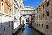 Bridge Of Sighs And Gondola