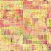Grunge aging texture, art background. With different color patterns: yellow, red, orange, purple (violet)