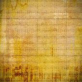 Beautiful vintage background. With different color patterns: yellow, brown, gray