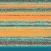 Grunge, vintage old background. With different color patterns: yellow, orange, blue
