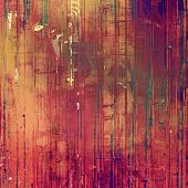 Background with grunge stains. With different color patterns: brown, orange, purple (violet)