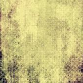 Old designed texture as abstract grunge background. With different color patterns: yellow, gray