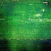 Old Texture or Background. With different color patterns: green, blue