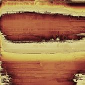 Old retro vintage texture. With different color patterns: yellow, brown, gray