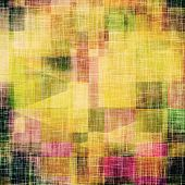 Old, grunge background texture. With different color patterns: yellow, green, brown, pink, purple