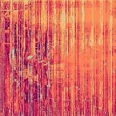 Old abstract texture with grunge stains. With different color patterns: yellow, red, orange, purple (violet)