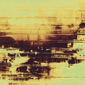 Grunge background with space for text or image. With different color patterns: yellow, brown, gray