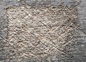 shabby cut tree trunk scored surface texture background
