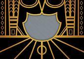 Art Deco Page Border