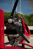 picture of gyrocopter  - Close - JPG