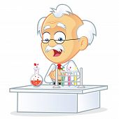 Vector Professor in the Laboratory