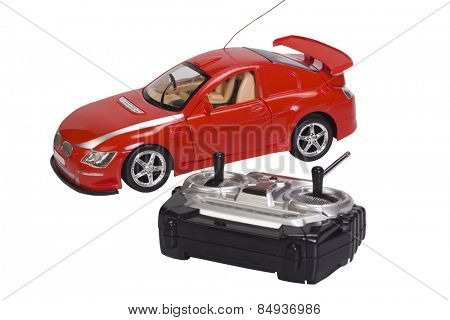 Remote controlled toy car with