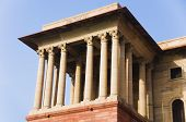 foto of rashtrapati  - High section view of a government building - JPG
