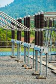 foto of electric station  - Power station for making the electric energy - JPG
