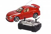pic of controller  - Remote controlled toy car with a game controller - JPG