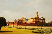image of rashtrapati  - Facade of a government building - JPG
