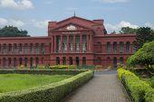 stock photo of karnataka  - Facade of a courthouse - JPG