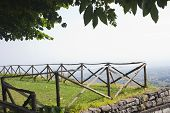 stock photo of messina  - Fence in a farm - JPG
