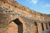 picture of messina  - Ruins of an ancient Greek theatre - JPG