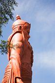 picture of hanuman  - Lord Hanuman statue at Jakhoo Temple - JPG