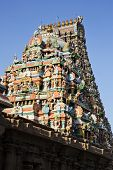 pic of tamil  - Architectural detail of Kapaleeshwarar Temple - JPG