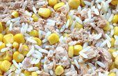 Rice Corn And Tuna