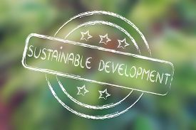 pic of sustainable development  - sustainable development excellent performance stamp  - JPG