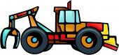 image of skidder  - Cable Skidder - JPG