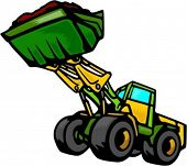 Loader.Vector illustration