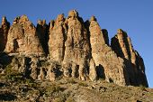The Palisades Rock Formation, Oregon