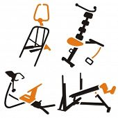 Fitness Vector Icons Series.