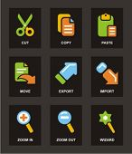Color Icon Series. Basic icons set. Check my portfolio for much more of this series.