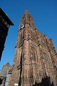 Cathedral De Norte-Dame In Strasbourg, France