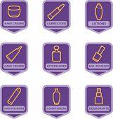 Merchandise Pictogram Series - Cosmetics