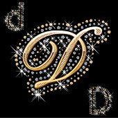 carta de ouro e diamante brilhante